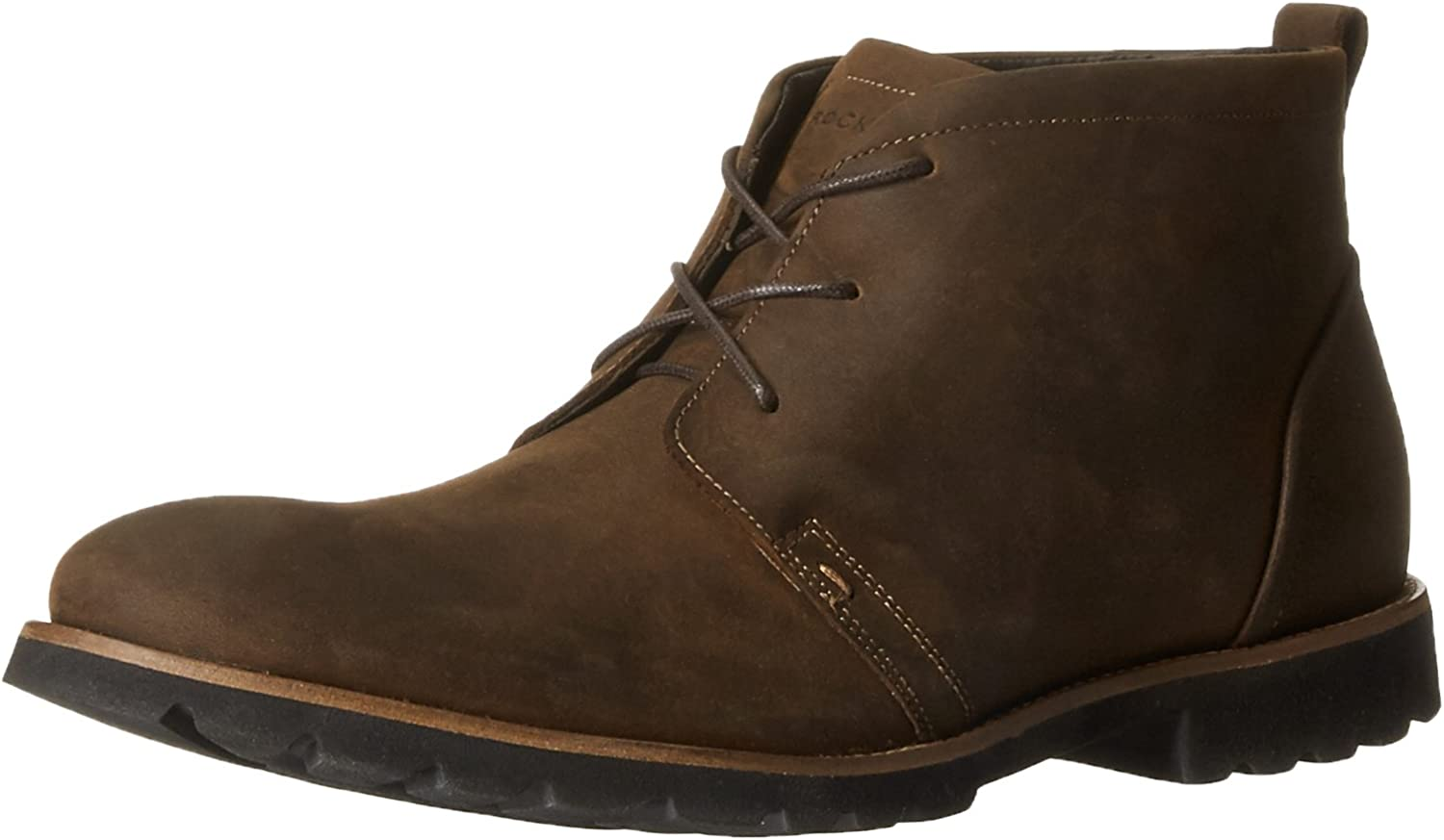 Rockport Men's Charson braun Oiled Leather Stiefel 10.5 W (EE)
