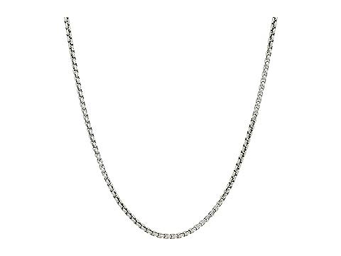 John Hardy 2.6mm Box Chain Necklace Size 26