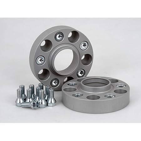 Spurverbreiterung Aluminium 2 Stück 25 Mm Pro Scheibe 50 Mm Pro Achse Inkl TÜv Teilegutachten Auto