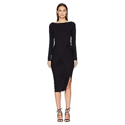Vivienne Westwood Long Sleeve Vian Dress (Black) Women