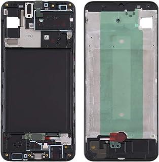 YPshell Phone Repair Front Housing LCD إطار إطار اللوحة لسامسونج جالاكسي A30s