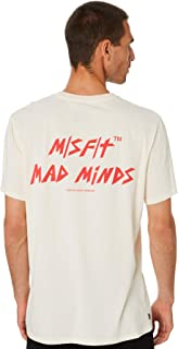 Misfit Men's Shadows Light Mens Ss Tee Short Sleeve Cotton White
