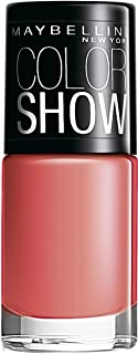 Maybelline Color Show Nail Enamel, Coral Craze, 6ml