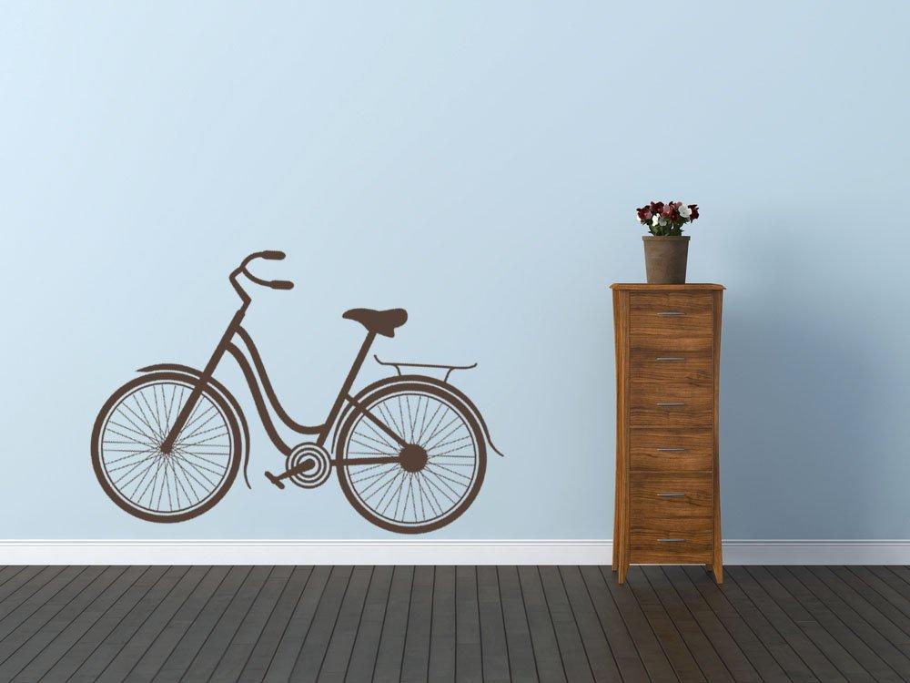 Bicicleta infantil Vintage moderno de la pared del vinilo adhesivo ...