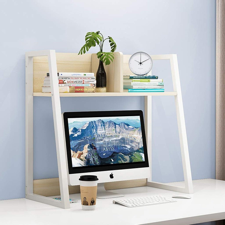 CXQ Modern Minimalist Bookshelf Creative Solid Wood Fall Home Desktop Small Bookshelf Creative Storage Rack Single-Layer White Bookcase