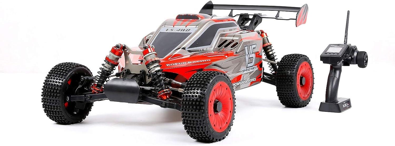 Monster Truck 4WD Mit 32-cm3-Einzelzylinder-luftgekühltem Zweitakt-Vierpunkt-Festbenzin-7mm hydraulische Stodmpfung(1  5-Fahrzeugmodell, Gre  830X500X330mm)