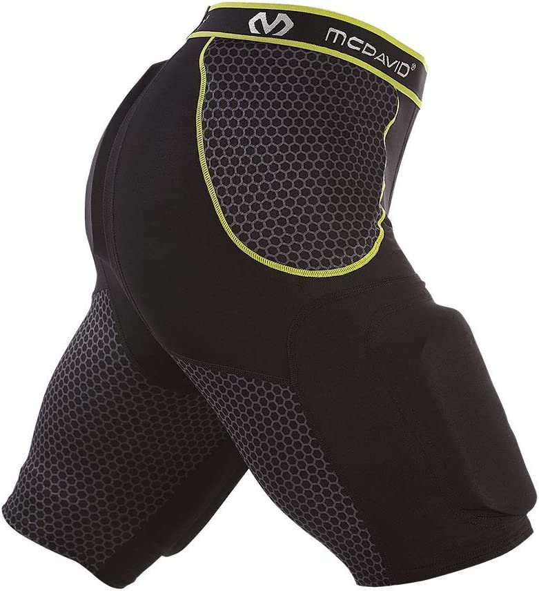 McDavid Football Padded Girdle Compression Hard-Shel Shorts with free shipping Genuine