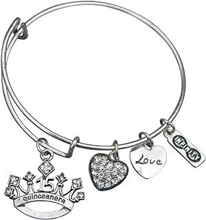 هدية Quinceanera - مجوهرات عيد الميلاد الخامسة عشر للفتيات - مجوهرات Quinceanera - هدية عيد ميلاد مثالية للفتيات في عيد ال...