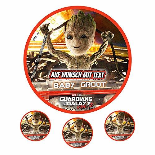 Tortenaufleger Fototorte Oblate Tortenbild Geburtstag eßbar Motiv: Guardians of the Galaxy 02 (Oblatenpapier)