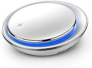 空気清浄機 車載 卓上 HEPA、活性炭フィルター搭載 消臭除菌 ホコリ・タバコの煙・PM2.5・花粉・アレル物質対策 適用面積~6畳/10㎡ 自宅用 USB充電使用 静音 七色変換LED内蔵 日本語説明書付き