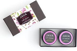 Java Truly Bloom Lip Scrub/Lip Balm Set