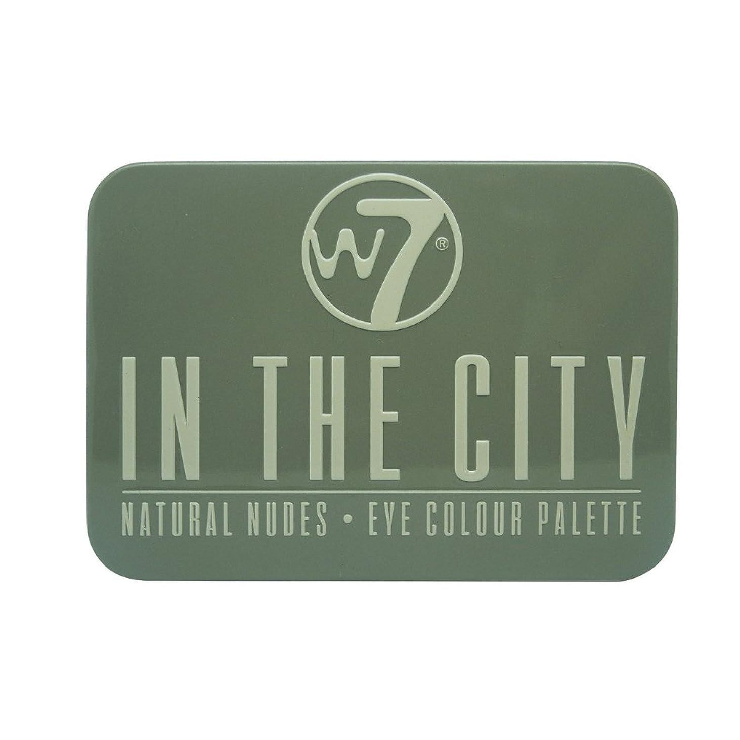 早めるハム条約(3 Pack) W7 In The City Natural Nudes Eye Colour Palette (並行輸入品)