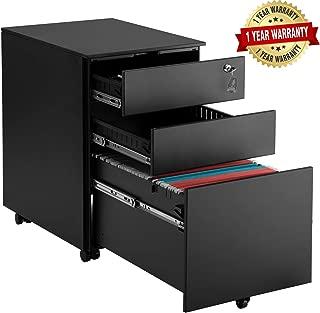 3 drawer under desk pedestal