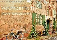 Velomantisch - Radimpressionen (Wandkalender 2022 DIN A4 quer): Dein treuer Begleiter, das Fahrrad (Monatskalender, 14 Seiten )