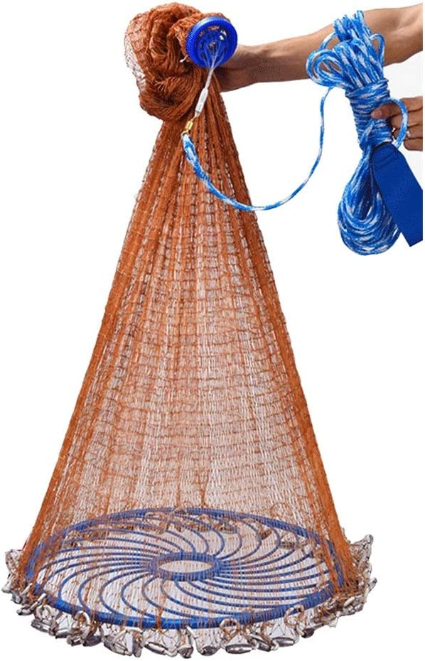 Fishing Challenge the lowest price of Japan Cast Nets 4 Selling rankings 6 8 Throwing 12ft Hand S 10 Radius