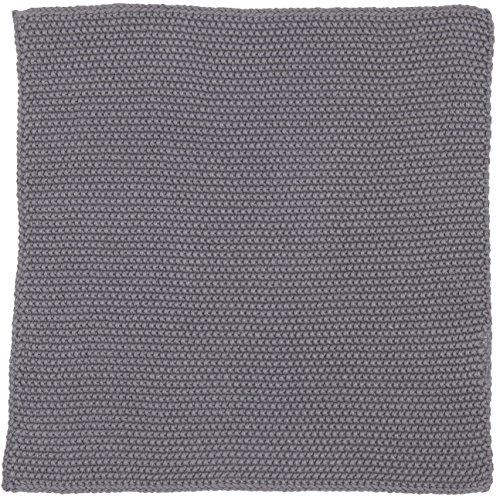 IB Laursen Spüllappen Mynte Dunkelgrau gestrickt Küchenhandtuch Handtuch grau Küchentuch Tuch Universaltuch Allzwecktuch Waschlappen Serviette