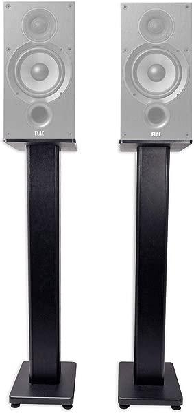 Pair 28 Bookshelf Speaker Stands For ELAC Debut 2 0 B6 2 Bookshelf Speakers