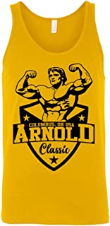 Arnold Classic Men's Bodybuilding Tank Top Workout Gym Stringer T Shirt