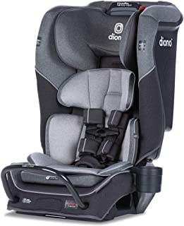 Diono Radian 3QX 4-in-1 Rear and Forward Facing Convertible Car Seat, Safe Plus Engineering 3 Stage Infant Protection, 10 ...