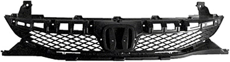 CPP Textured Black Grille Assembly for 2009-2011 Honda Civic HO1200198