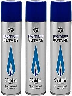 Colibri 90ml Premium Butane Fuel Gas Refill 3 - Pack