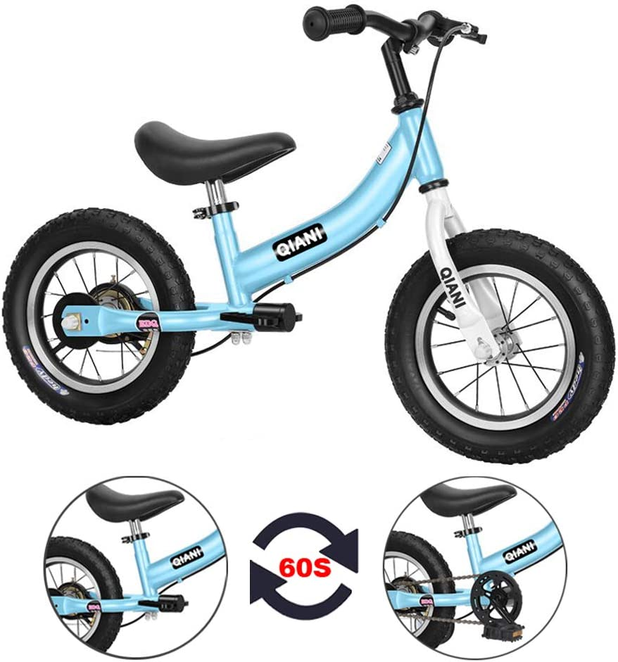 QIANI Balance Bike 2 in 1 for Toddlers 6 Max 83% OFF 4 Ol 5 3 Kids Max 78% OFF Years 7