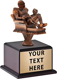 Crown Awards Fantasy Football Couch Potato Trophy