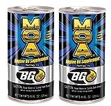 2 - Pack Bg MOA Motor Oil Additive (2) 11oz. Cans