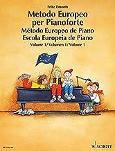 Scaricare Libri Metodo europeo per pianoforte. Ediz. multilingue. Per la Scuola media: 1 PDF
