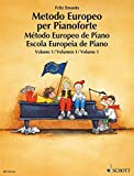 METODO EUROPEO DE PIANO I O.VARIAS: German/French/English/Spanish: 1