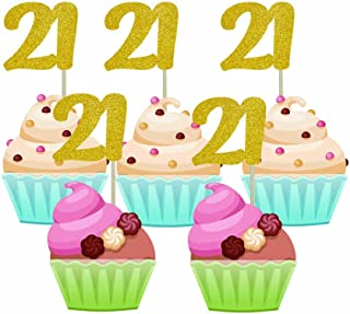 Best 21 cupcake toppers Reviews