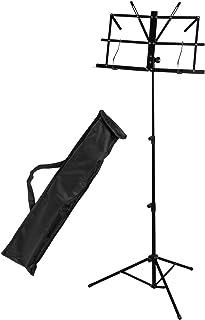 Kinsman KSS09 Pupitre de pliage pour Instrument de musique//Ordinateur de bureau Noir