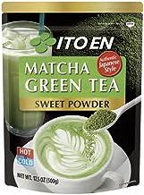 Ito En Matcha Green Tea, Sweet Powder, 17.5 Ounce (Pack of 1), Sweetened Green Tea Powder