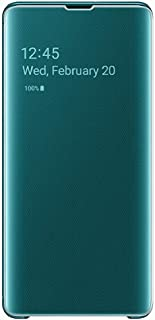 Samsung S10+ Clear View Cover, Green