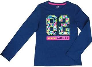Danskin Now Girls' Long Sleeve Graphic Tee Shirt