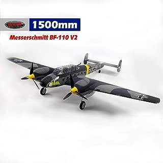 DYNAM RC Airplane BF-110 1500mm Wingspan - SRTF