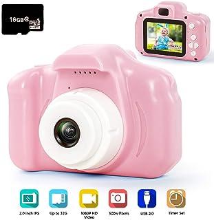 hyleton Digital Camera for Kids, 1080P FHD Kids Digital Video Camera Camcorder for 3-10..