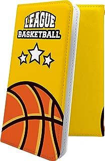 Nexus5X ケース 手帳型 バスケ バスケット バスケットボール ボール スポーツ デザイン イラスト グーグル ネクサス 手帳型ケース ユニーク おもしろ おもしろケース Nexus 5X かっこいい