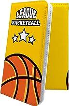 ケース REGZA Phone T-01D 互換 手帳型 バスケ バスケット バスケットボール ボール スポーツ デザイン イラスト レグザフォン レグザ 互換 手帳型ケース ユニーク おもしろ おもしろケース T01D REGZAPhone ...
