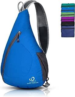 Packable Shoulder Backpack Sling Chest Crossbody Bag Cover Pack Rucksack for Hiking
