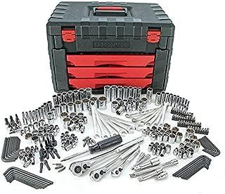 Craftsman 270pc Mechanics Tool Set with 3-Drawer Chest 12133