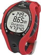 Sigma 1209 - Pulsómetro codificado, color rojo