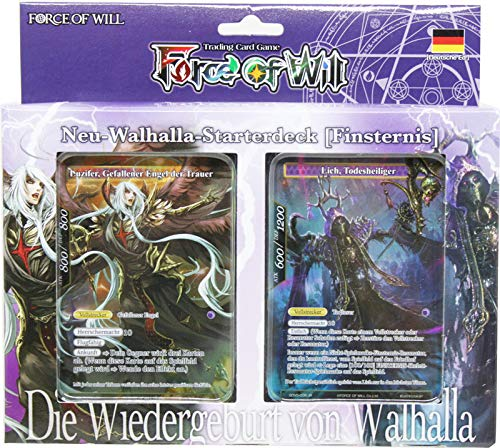 Force Of Will - Walhalla-Starterdeck Finsternis - Deutsch
