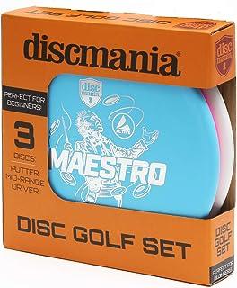 ディスクゴルフ 3種類セット PDGA公認【世界65ヵ国でプレー】 discmania ディスクマニア 野外でフリスビー フライングディスク レクリエーションとして
