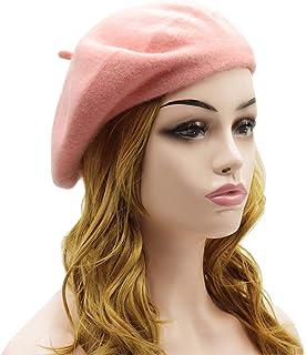 1ac4e6d439142 Amazon.com  Pinks - Berets   Hats   Caps  Clothing