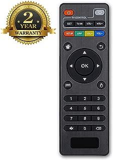 Bincolo Original Replacement Remote Control Controller for Android TV Box MXQ, MXQ PRO, MXQ-4K, M8S, M8N, T95, T95M, T95N, T95X, X96, X96mini, H96, H96 Pro, Black