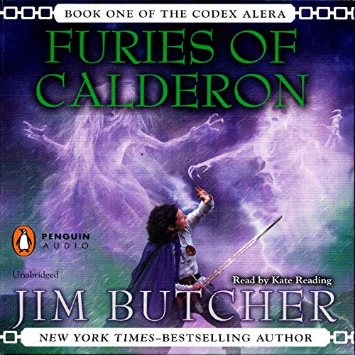 Furies of Calderon audiobook cover art