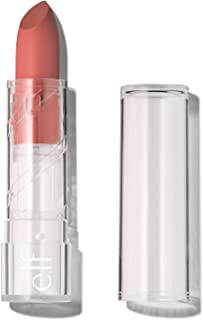 e.l.f, SRSLY Satin Lipstick, Silky, Smooth, Pigmented, Long Lasting, Provides Intense Color Payoff, Nectar, 10 Shades, Easy To Apply, 0.16 Oz