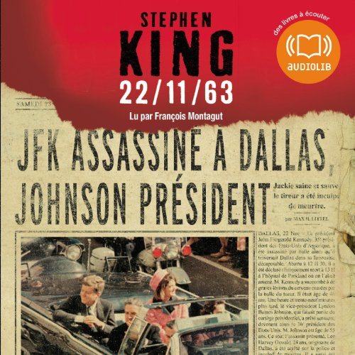 22/11/63  audiobook cover art