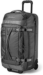 Unisex-Adult Expedition Drop-Bottom Rolling Duffel - Large, Black Re